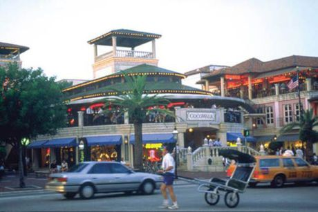 Coconut Grove shopping center